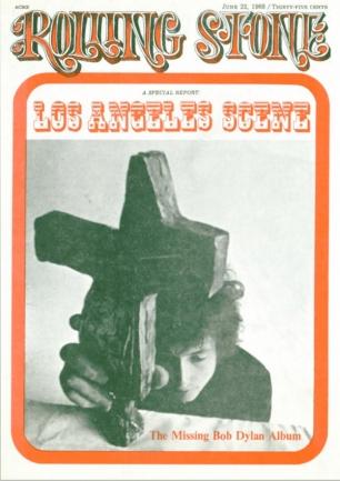 Rolling Stone con in copertina Bob Dylan
