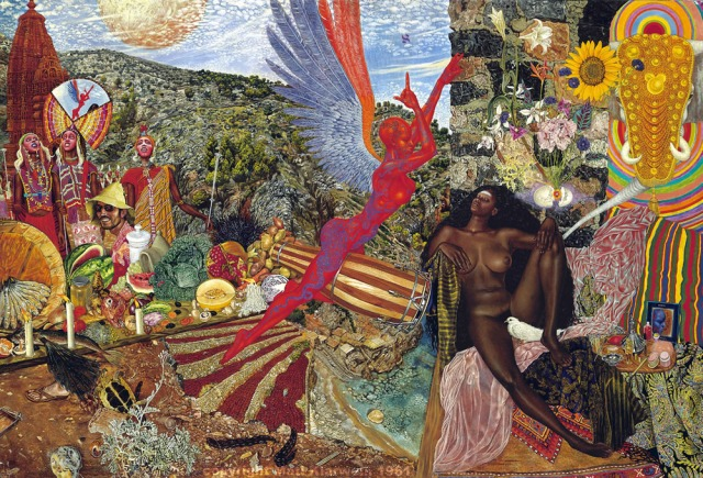 Santana, Abraxas (copertina di Mati Klarkwein)