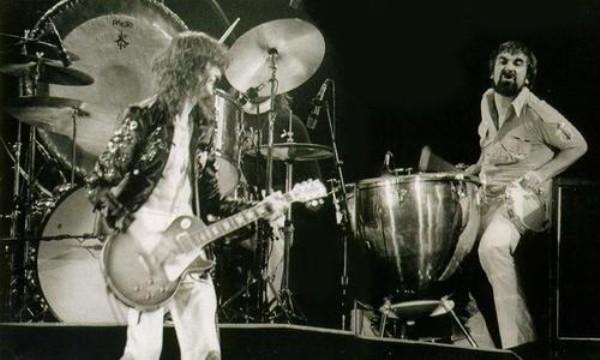 Led Zeppelin e Keith Moon