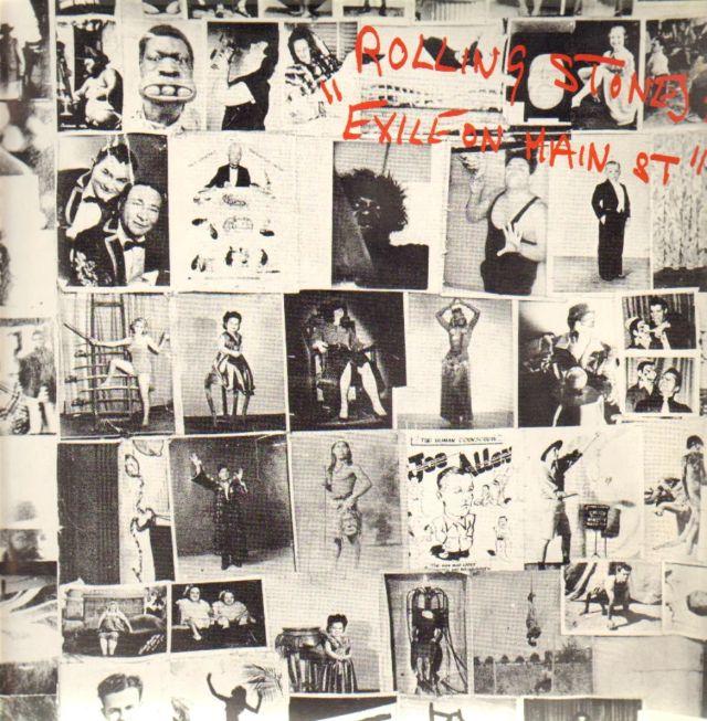 Rolling Stones, Exile On Main Street (copertina di Robert Frank, Norman Seef e John Van Hamersveld