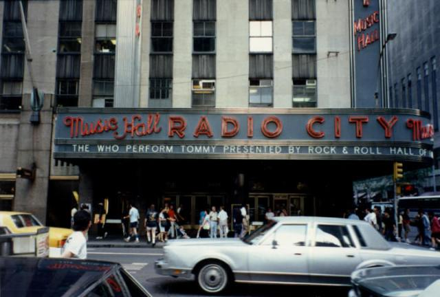 New York, Radio City Music Hall