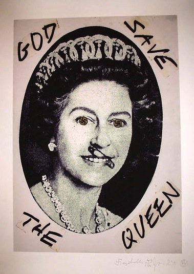 God Save The Queen nella visione dissacrante di Jamie Reid