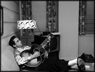 Johnny Cash tra fine anni '50 e inizi anni '60 alla Sun Records