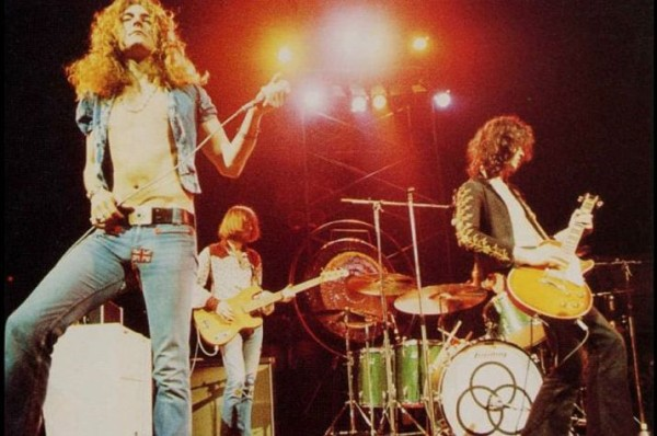 Led Zeppelin al Madison Square Garden di New York (1973)
