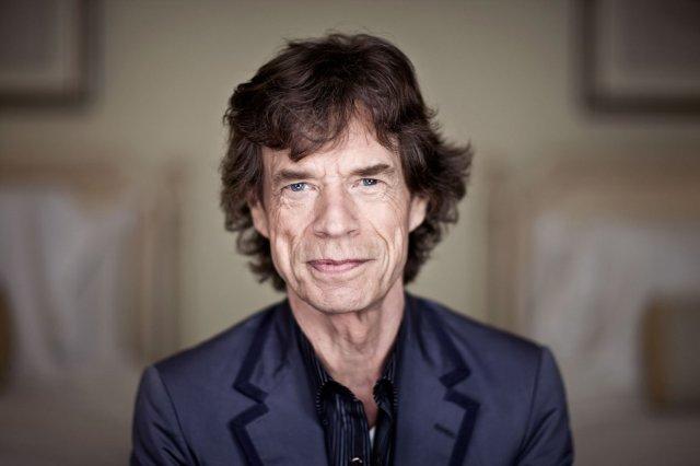Mick Jagger in uno scatto di quest'anno