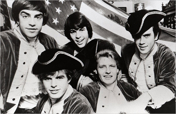Paul Revere & The Raiders negli ann' 60