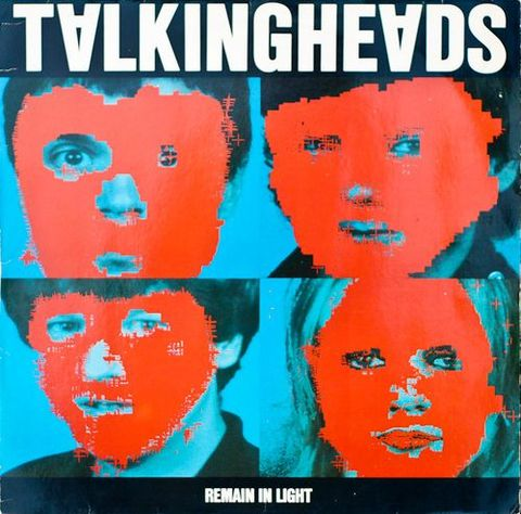 "L'angosciante copertina di ""Remain In Light"" dei Talking Heads"
