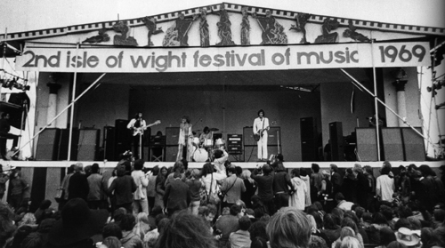 1969: seconda edizione del Festival dell'Isola di Wight