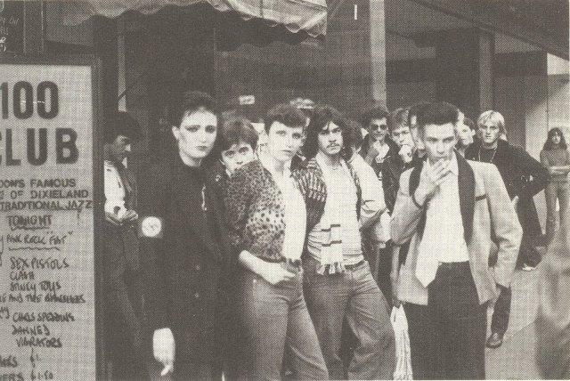 """Il """"100 Club Punk Special"""", in scena il 20 e il 21 settembre 1976"""