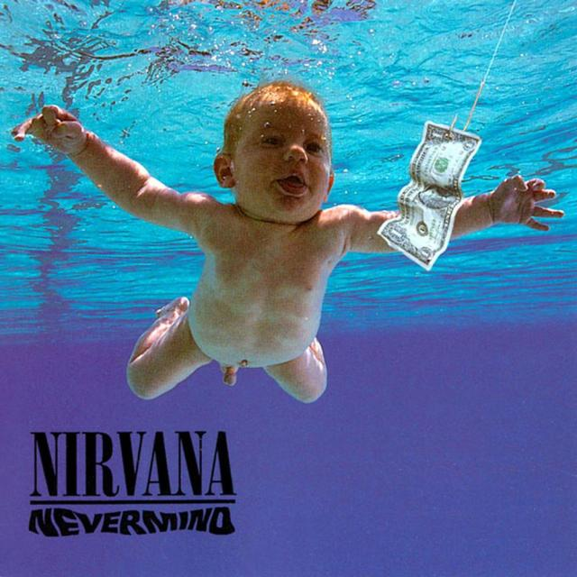 "La coperta di ""Nevermind"", million seller dei Nirvana"