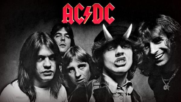 "La band australiana AC/DC ai tempi di ""Highway To Hell"""