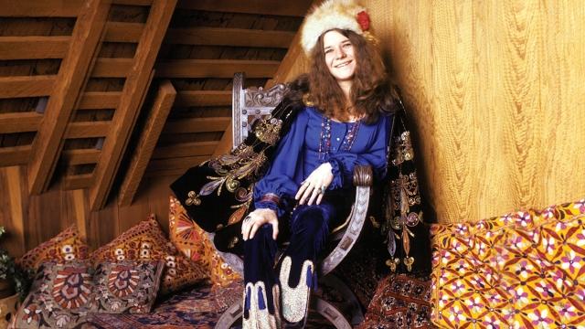 Una bella fotografia di Janis Joplin