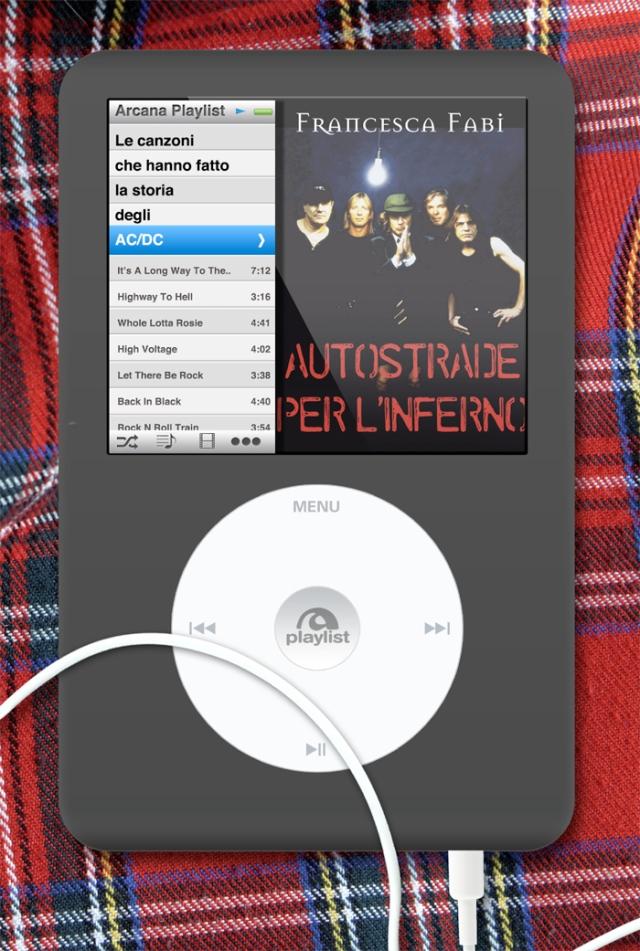 """""""Autostrade per l'inferno, le canzoni che hanno fatto la storia degli AC/DC"""" - di Francesca Fabi (Arcana Edizioni, 2013)"""