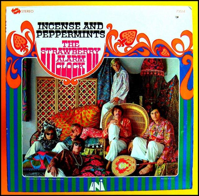 La coloratissima copertina del primo e unico LP della band californiana