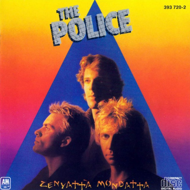 """La copertina di """"Zenyatta Mondatta"""", terzo LP dei Police"""