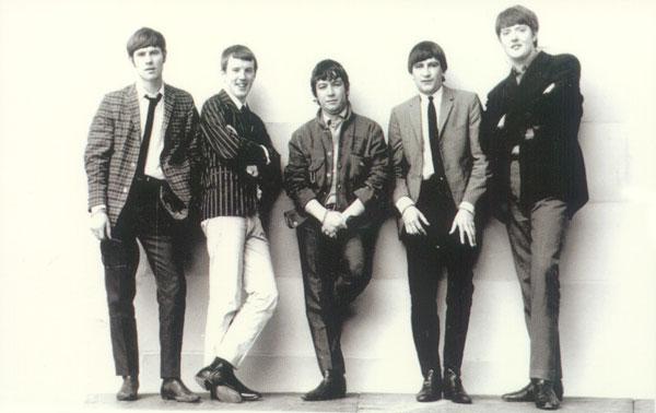 Gli Animals nel 1964