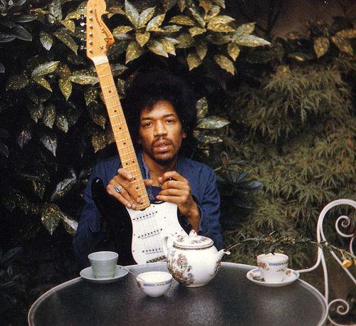 Una delle ultime fotografie di Hendrix