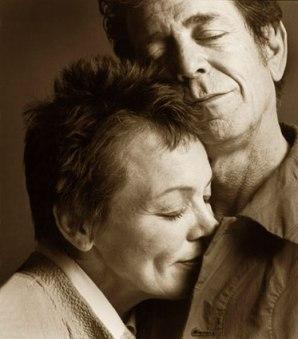 Laurie Anderson e Lou Reed in un bellissimo scatto del fotografo Guido Harari