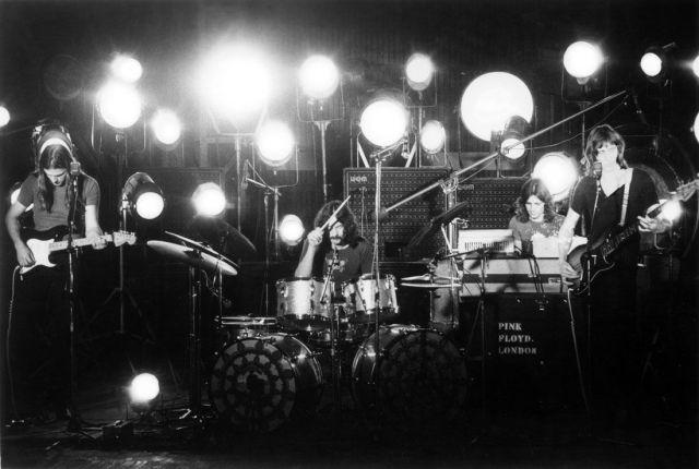 I Pink Floyd a Pompei
