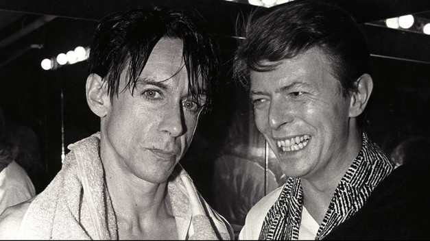 Iggy Pop e David Bowie