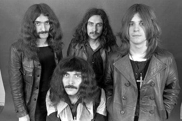 I Black Sabbath nei primi anni '70