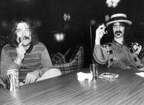 Don Van Vilet (Captain Beefheart) e Zappa