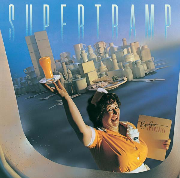 La copertina del million seller dei Supertramp