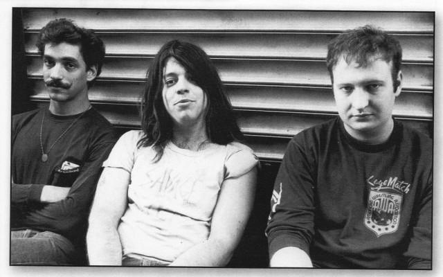 Bob Mould (a destra) negli anni '80