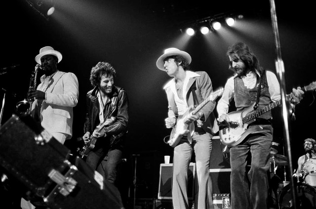 Bruce Springsteen la sua E Street Band dal vivo