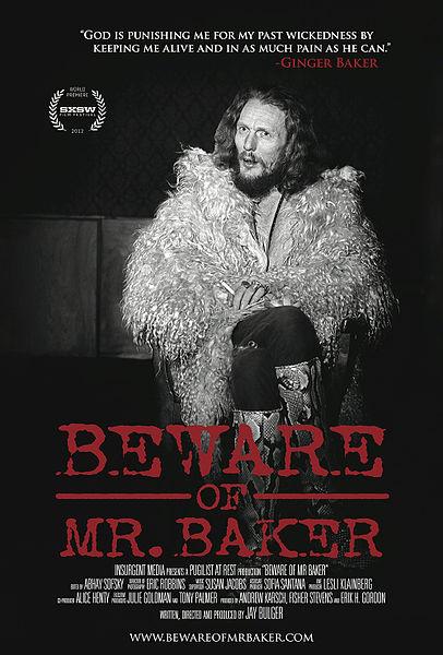 Il documentario sulla vita di Ginger Baker
