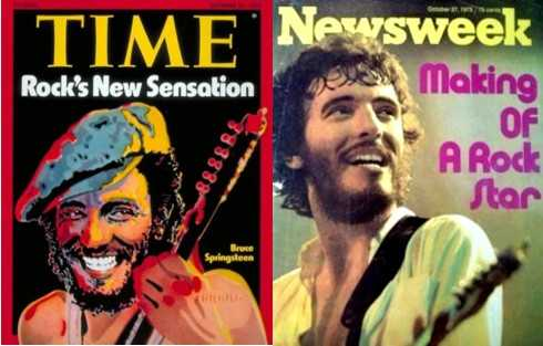 "25 ottobre 1975: Bruce Springsteen su ""Time"" e ""Newsweek"""