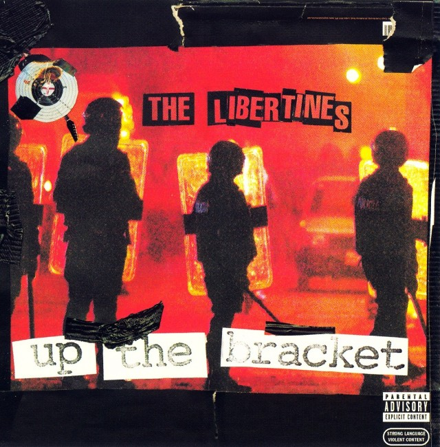 "La copertina di ""Up The Bracket"" (Rough trade, 2002)"