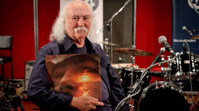 Il 72enne David Crosby
