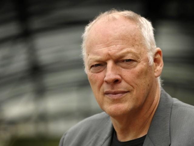 David Gilmour nel 2013