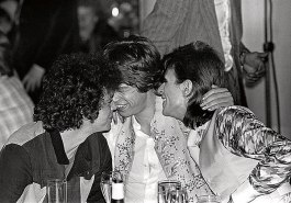 Lou Reed, Mick Jagger e David Bowie