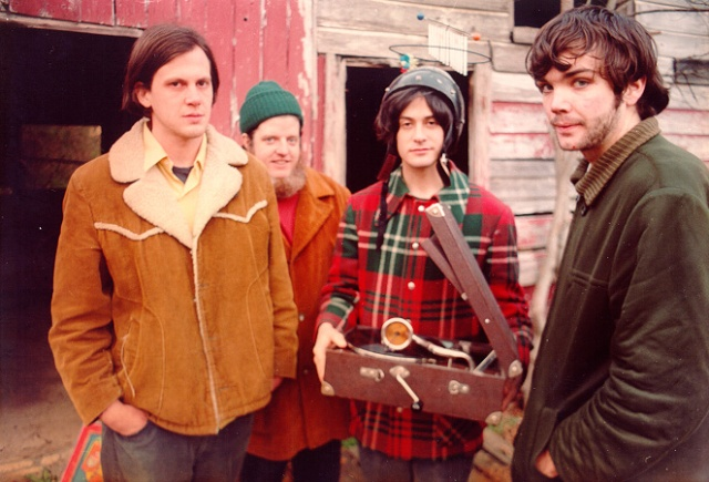 Uno scatto dei Neutral Milk Hotel