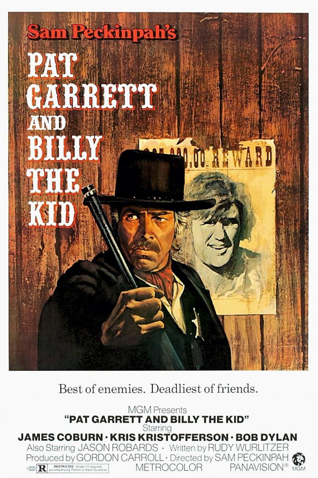 "La locandina di ""Pat Garrett & Billy The Kid"""