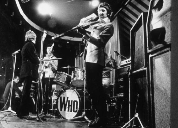 The Who di ritorno al Marquee Club di Londra nel 1967  (Photo by Ray Stevenson / Rex Features (153670bb))