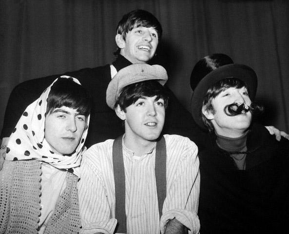 Qui i Fab Four non potevano ancora sapere che presto sarebbero diventati la band più famosa del pianeta...