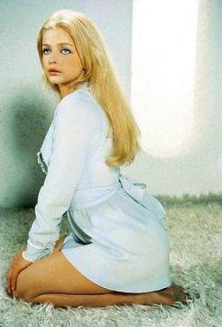 L'attrice svedese Ewa Aulin