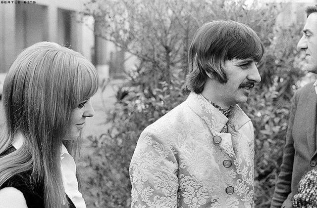Ringo Starr arriva sul set del film