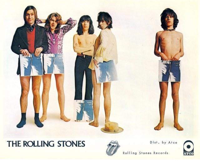 """La foto promozionale di """"Sticky Fingers"""""""