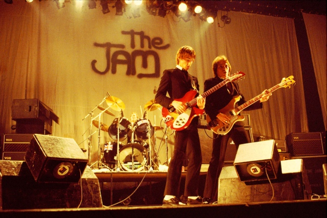 The Jam on stage