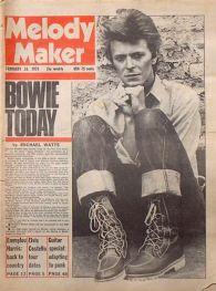 Un numero dedicato a Bowie del febbraio 1978