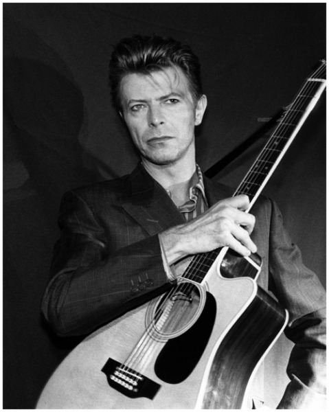 David Bowie - Sound + Vision Tour 1990 (Photo by Donna Santisi)