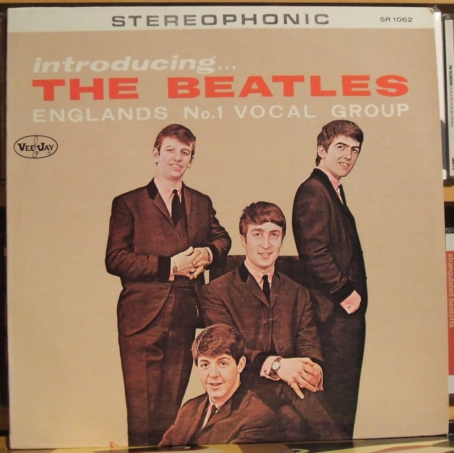 "LP originale di ""Introducing The Beatles"" (Veejay Records)"