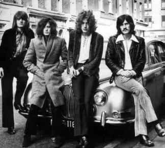 I Led Zeppelin alla fine degli anni '60