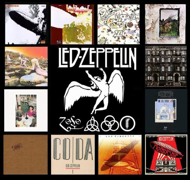 Il catalogo dei Led Zeppelin